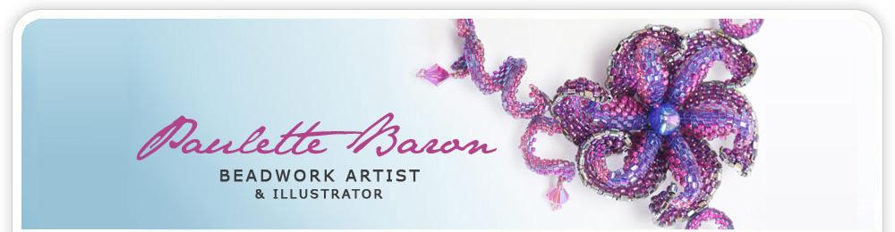 Beadwork Illustrations Beading Across America Bead Artist Beading Teacher Beading Kits Bead Patterns Beading Books Paulette Baron