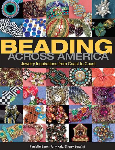 I illustrated the book, Beading Across America, 2011, Kalmbach Publishing.
