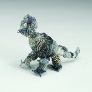 Selected for the 2005 Beaded Figure exhibition, which toured the U.S.